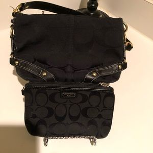 COACH BAG with zippered case